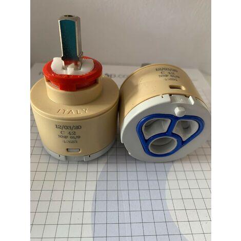Cartouche de remplacement pour mitigeur de diamètre 40 Hydroplast C42 | Cartouche