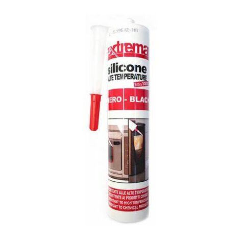 Cartouche de silicone 300° Noir température 180 °, 300 ml