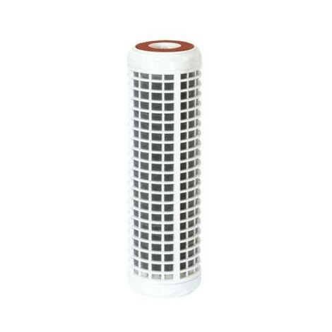 Cartouche filtrante au charbon actif anti-odeur cfl lavable 93/4 50 microns + cca charbons