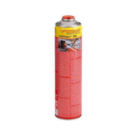 Cartouche gaz combustible 600 ml Multigas 300 ROTHENBERGER