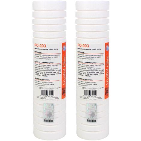Cartouche PO-003 compatible CJFA et CJ1020 pour Polar - Crystal Filter® (lot de 2)
