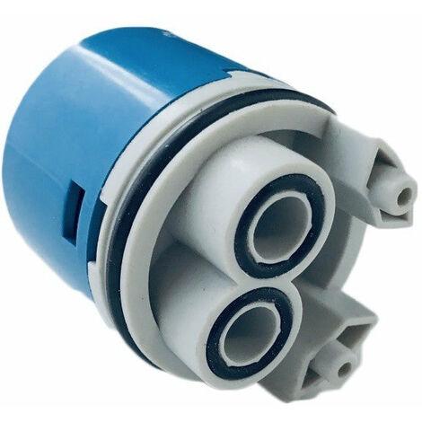 Cartouche pour robinet mitigeur diamètre 40 avec distribution