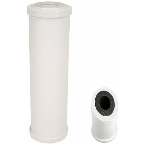 Cartouche PPCB-05-934 Crystal Filter® double-action : Spun 5 µm & Charbon bloc