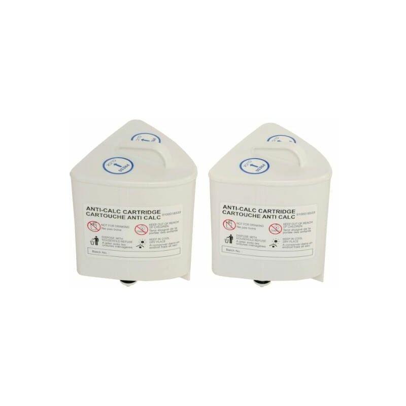 Cartouches anti-calcaire par 2 pour Centrale vapeur - Moulinex