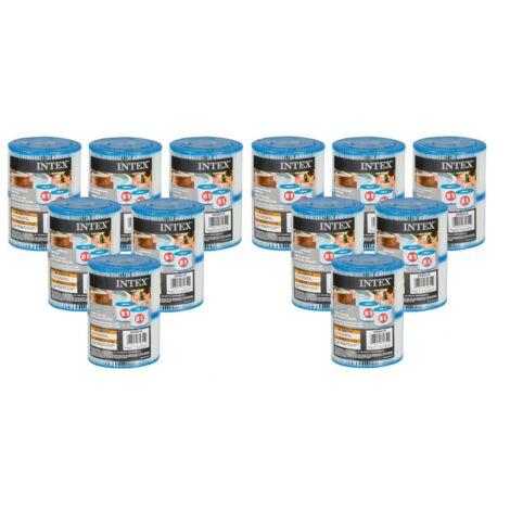 Cartouches pour SPA - Intex - 12 lot de 2 cartouches de filtration soit 24 cartouches - Livraison gratuite