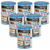 Cartouches Spa Intex - 6 lots de 2 cartouches de filtration soit 12 cartouches