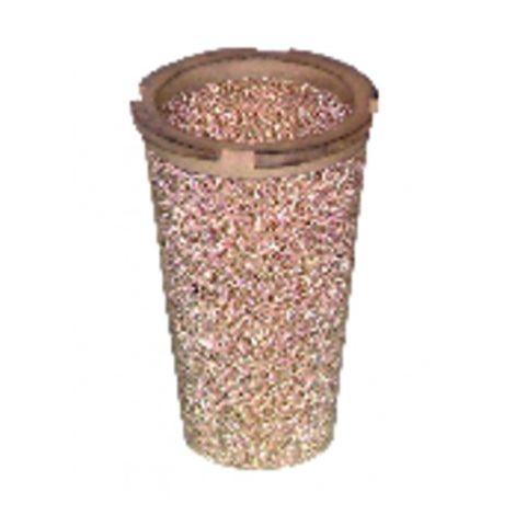 Cartridge of bronze filter