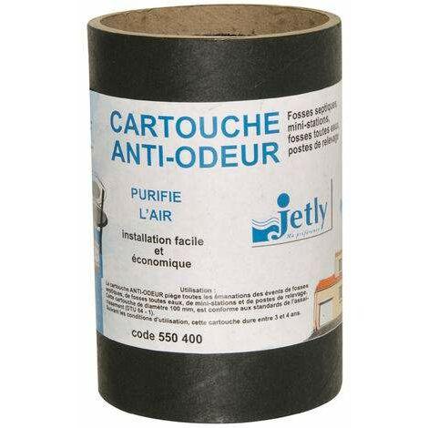 Cartucho antiolor para fosas sépticas de agua