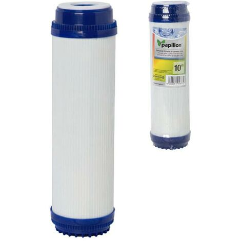"Cartucho filtro agua carbon activo 10"""
