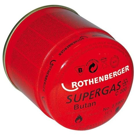 """main image of """"Cartucho gas 190ml C200 III Rothenberger"""""""