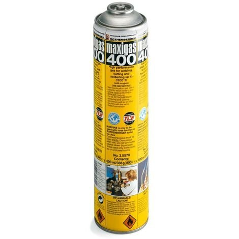 """main image of """"Cartucho Gas 400Gr Maxigas 400 Rothenberger"""""""