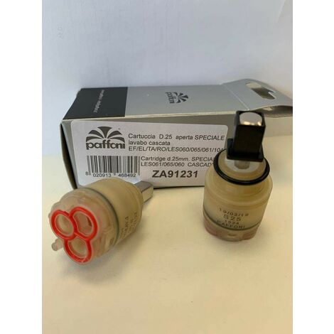 Cartucho reemplazo ø 25 para grifèria Paffoni ZA91231 | Cartucho