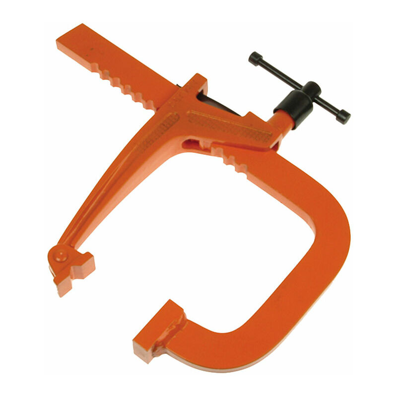 Image of 301035 T285-225 Medium-Duty Long Reach Rack Clamp 22.5cm - Carver