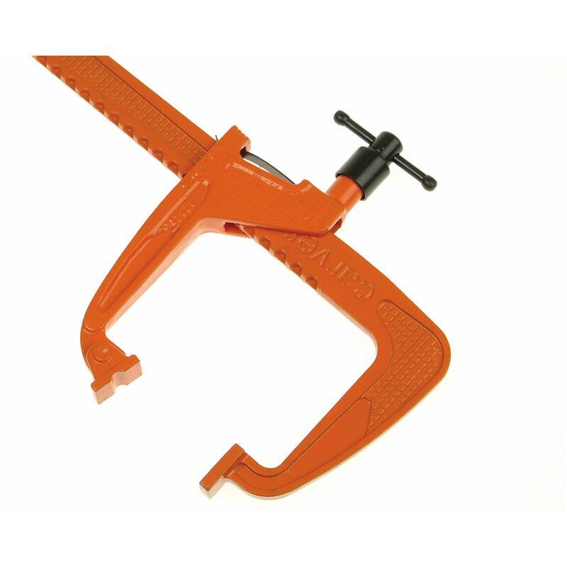 Image of Carver 301313 T321-600 Standard-Duty Long Reach Rack Clamp 60cm