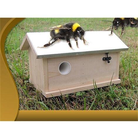 Casa de Abejorros Caja de Abejorros Nido de Abejorro Caja de nidos Casa de insectos Hotel de insectos XXL Abejas Insectos voladores