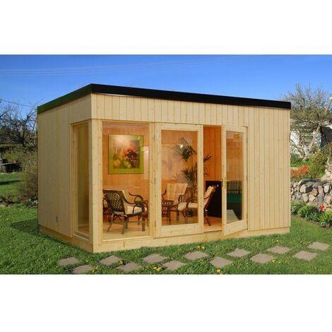 Casa de madera Nórdica Solveig 13,6 m2