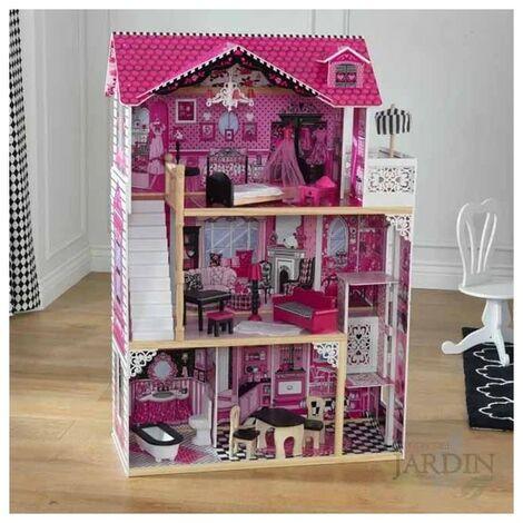 Casa de muñecas amelia de madera