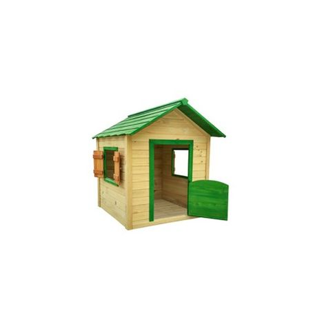 Casa Jard 116X138X146Cm Inf Outdoor Toys Mad Ver/Mad Knh1001
