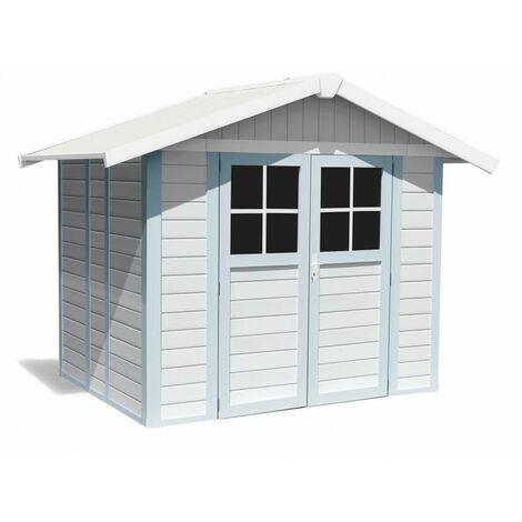 Casa Jardin Modelo Deco 4,9M2 Blanco /Azul