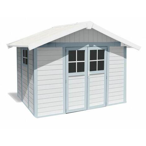 Casa Jardin Modelo Deco 7,5M2 Blanco /Azul