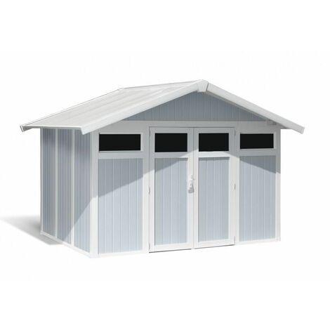 Casa Jardin Modelo Utility 7,5m² Blanco /Azul