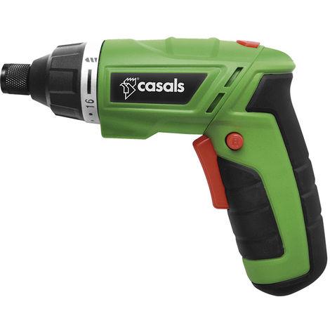 Casals VDSLI36AC - Atornillador plegable con bater