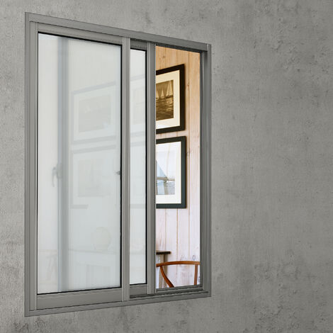 [casa.pro] Lámina para ventana adhesiva frosted/escarchada (100cm x 50cm) espátula incluida película protectora vidrio esmerilado