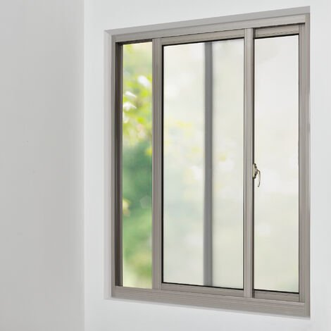 [casa.pro] Lámina para ventana estática - vidrio esmerilado (100cm x 50m) espátula /raspador incluido película protectora