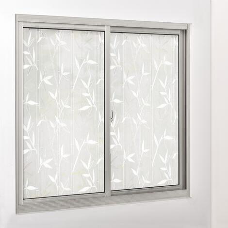[casa.pro] Lámina para ventana película protectora adhesiva estática vidrio esmerilado (50 cm x 50 m)