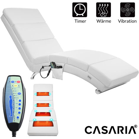 CASARIA Relaxing Faux Leather Lounger London Chaises Longues Reclining Recliner