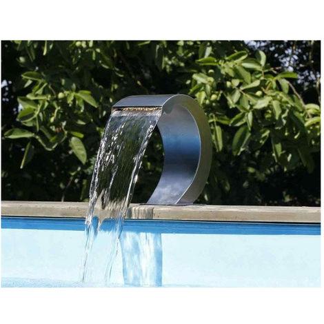 Cascade de piscine Mamba LED en acrylique transparent - Ubbink