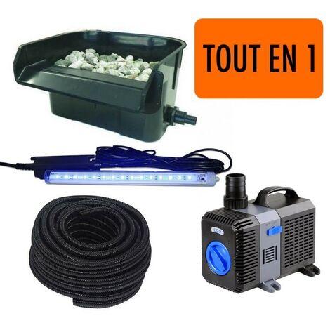 Cascade - Lame D'Eau + Pompe + LED + Tuyau : Set Complet