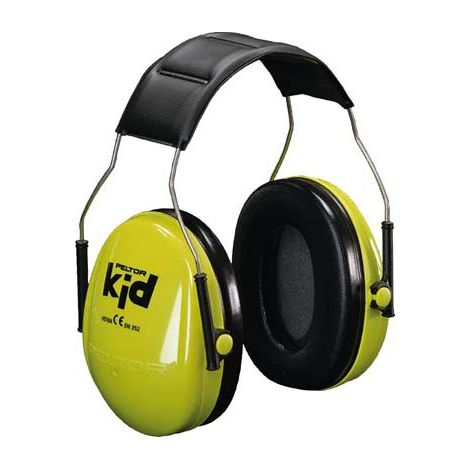 Casco anti-ruido PELTOR Kid, verde, referencia H510AK-442-GB