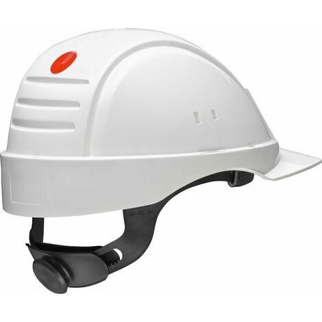 Casco con ventilación arnés de ruleta banda sudor plástico G2000 20Und