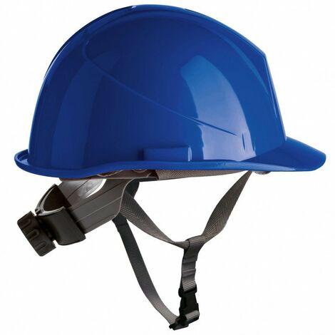 Casco de HDPE con barboquejo y rosca ER-Safety