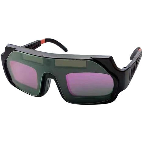 Casco de mascara de gafas de soldadura con oscurecimiento automatico solar