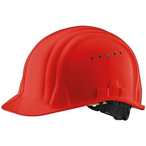 Casco de obra Baumeister 80/6 EN 397 rojo