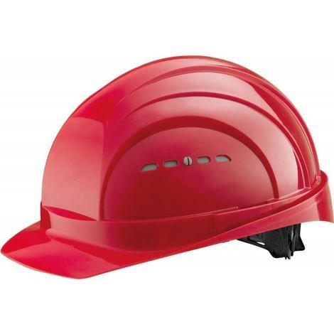 Casco de obra EuroGuard 6 EN 397 rojo