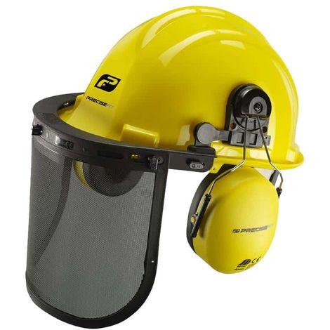 Casco de seguridad PRECISEFIT - PF100 visera y protección auditiva
