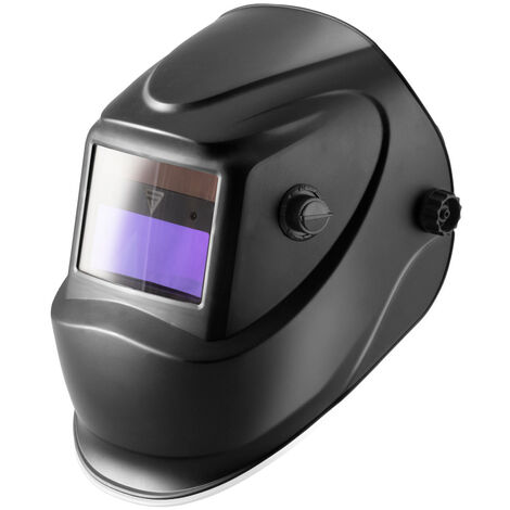 Casco de soldador STAHLWERK ST-450R careta de soldadura totalmente automática, ajustable, incluye 5 lentes de recambio, 7 años de garantía* en el filtro.