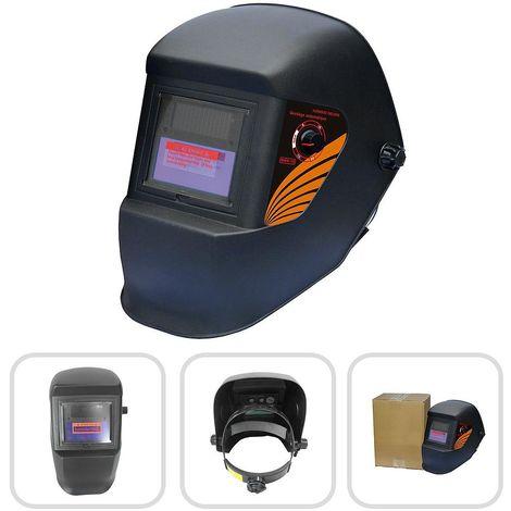 Casco de Soldadura Ajustable, Casco de Soldadura de Oscurecimiento Automático, Negro, Material: LCD, PCB