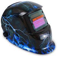 Casco de Soldadura Ajustable, Casco de Soldadura de Oscurecimiento Automático, Relámpago, Material: LCD, Plástico (PP, PE)