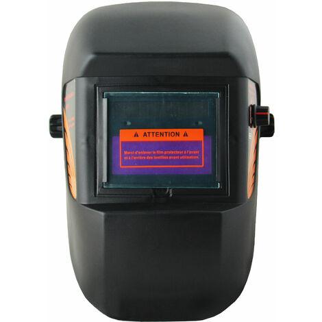 Casco de Soldadura de Oscurecimiento Automático, Casco de Soldadura Ajustable, Negro, Material: Plástico (PP, PE), PCB