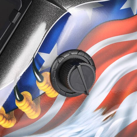 Casco de soldadura de oscurecimiento automatico solar, mascara de soldadores, negro