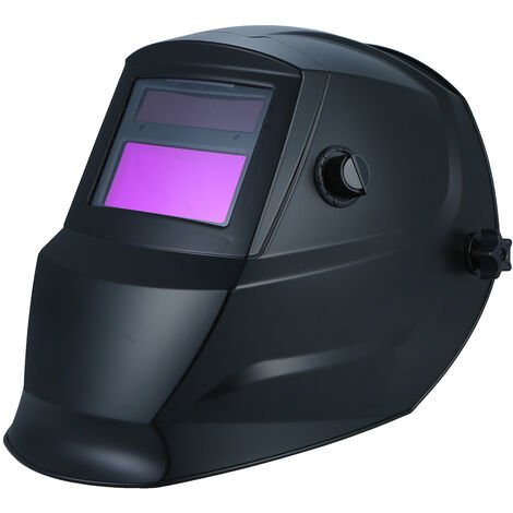 Casco de soldadura Escudo de casco protector de oscurecimiento automatico con energia solar