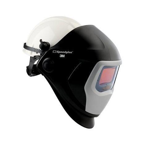 Casco de soldadura Speedglas 9100 de 3M, con casco de seguridad y pantalla de 9100V 583805