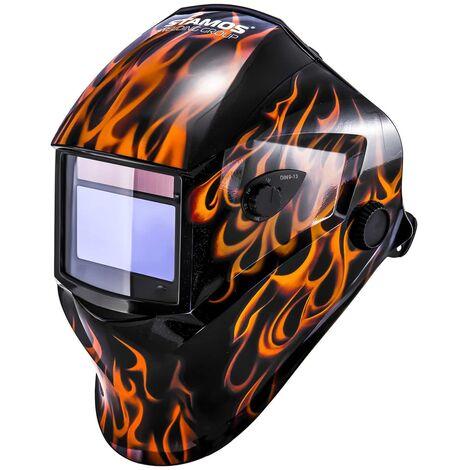 Casco De Soldar Automatico 98X44Mm Mascara De Soldadura Mig Mag Wig Plasma