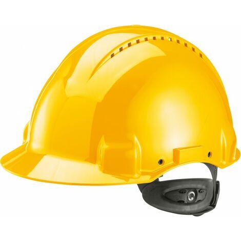 Casco G3000N,ABS, sistema de llave con trinquye, amarillo