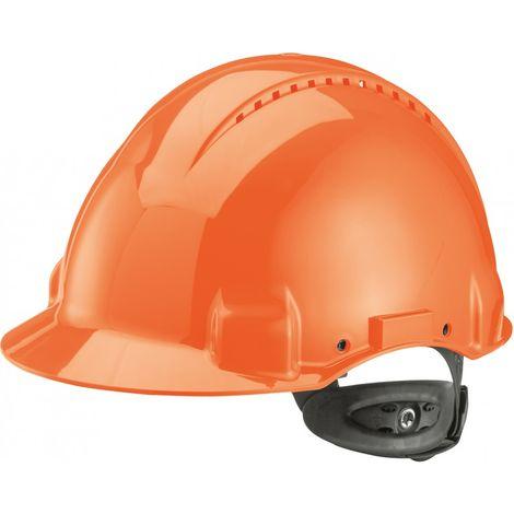 Casco G3000N,ABS, sistema de llave con trinquye, naranja