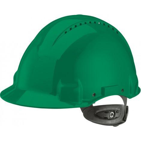 Casco G3000N,ABS, sistema de llave con trinquye, verde